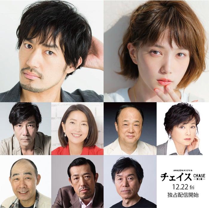 (上段左から)大谷亮平、本田翼(中段左から)岸谷五朗、羽田美智子、田山涼成、かとうかず子(下段左から)でんでん、嶋田久作、平田満(提供写真)