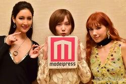 (左から)菜々緒、本田翼、仲里依紗(C)モデルプレス