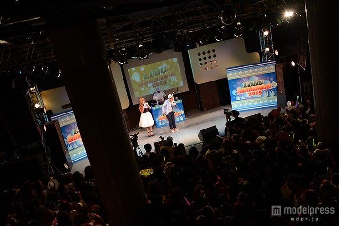 「LOVE SUNSHINE 2015」会場の様子
