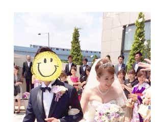 モデル山田るり子が挙式 ウェディングドレス姿を公開