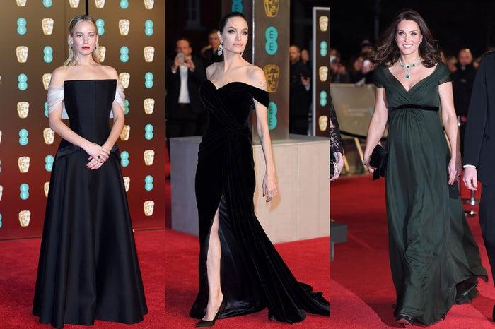 ジェニファー・ローレンス、アンジェリーナ・ジョリー、キャサリン妃/photo:Getty Images