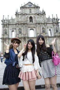 AKB48柏木由紀らフレンチ・キス、マカオ弾丸ツアーを堪能