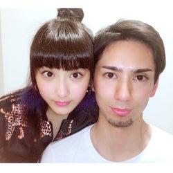 平祐奈と長兄の2ショット/平愛梨オフィシャルブログ(Ameba)より