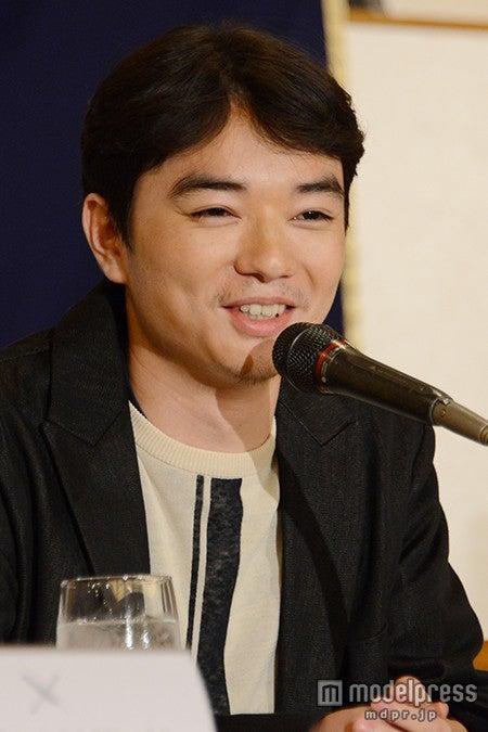 結婚後初の公の場に登場した染谷将太【モデルプレス】