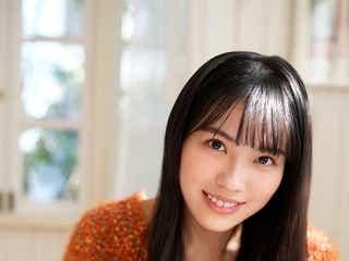"""日向坂46森本茉莉、品のいい""""お嬢様感""""溢れるグラビアで魅了"""