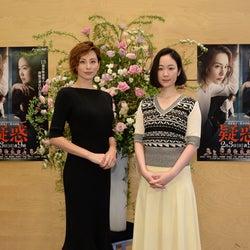 """米倉涼子、話題のキスシーンを回顧 黒木華の""""悪女ぶり""""絶賛<疑惑>"""