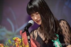「第9回TAMA映画賞」授賞式で涙を流した土屋太鳳 (C)モデルプレス
