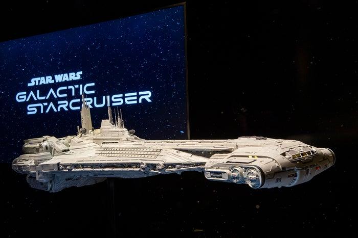 「スター・ウォーズ:ギャラクティック・スタークルーザー」イメージ(C)Disney/Lucasfilm Ltd. (C)& TM Lucasfilm Ltd.