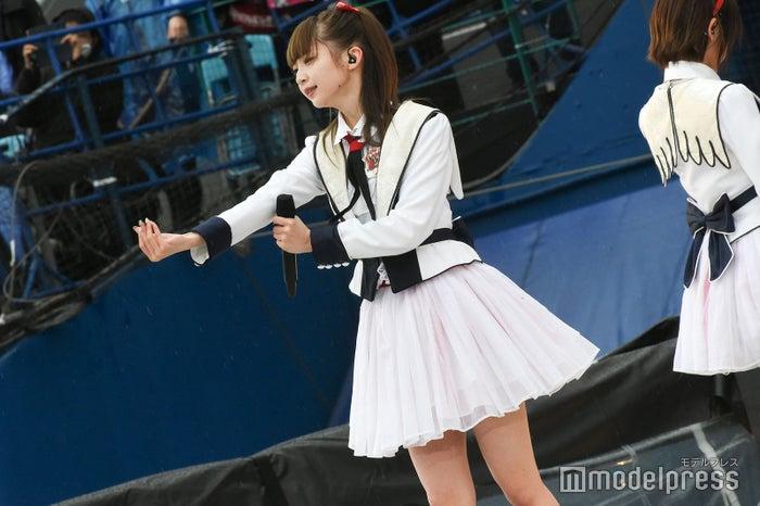 NGT48荻野由佳 「AKB48グループ春のLIVEフェスin横浜スタジアム」(C)モデルプレス