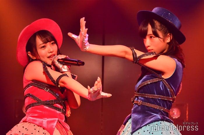 向井地美音、小栗有以/AKB48岡部チームA「目撃者」公演(C)モデルプレス