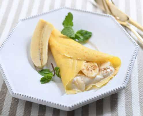 ホットプレートでヘルシーデザート!「バナナとシナモンの糀甘酒クレープ」【調理家電でラク家事ごはん #8】