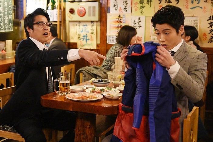 スーパーヒーローを引き受けた池杉はどんな行動をとるのか…(C)NTV