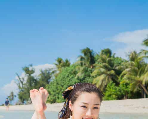 元SKE48石田安奈のふっくら美バストに釘付け 水着姿もたっぷり
