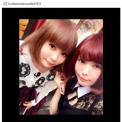 益若つばさ&中川翔子、ボブヘア2ショットに反響「似てる」「双子みたい」