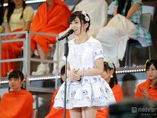 """NMB48山本彩、初の""""神7""""入り果たすも「すごく悔しい」<コメント全文/第6回AKB48選抜総選挙>"""