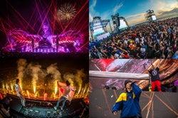 「EDC Japan 2018」2日目豪雨でも8万人動員 Martin Garrixら世界トップDJ集結