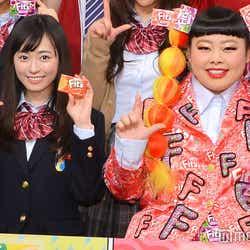 (左から)福原遥、渡辺直美(C)モデルプレス