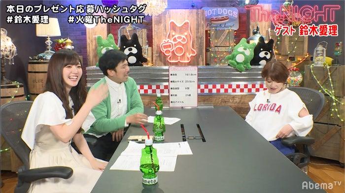鈴木愛理、岡野陽一、矢口真里(C)AbemaTV