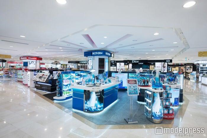 韓国全土に6店舗を展開する「ロッテ免税店」/画像提供:株式会社ホテルロッテ ロッテ免税店