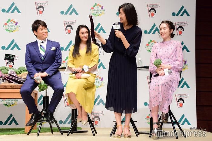 林修、仲間由紀恵、松下奈緒、安田レイ (C)モデルプレス