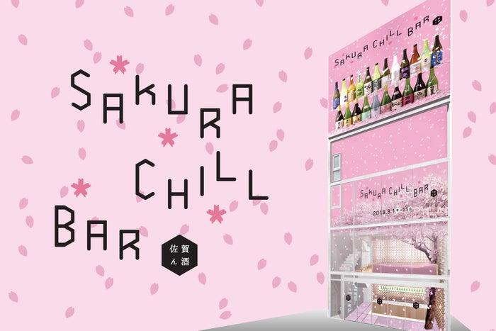 SAKURA CHILL BAR by 佐賀ん酒/画像提供:アフロ&コー