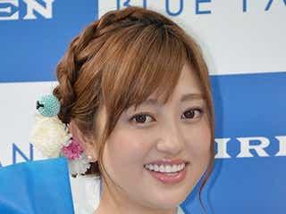 菊地亜美、爽やか浴衣姿で大人の魅力披露 恋愛に焦りも?