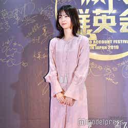 「WEIBO Account Festival in Japan 2019」のレッドカーペットイベントに登場した西野七瀬(C)モデルプレス
