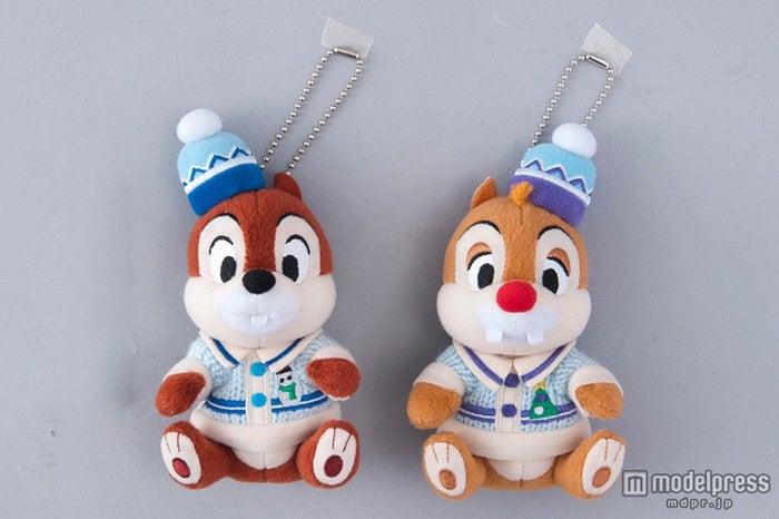 TDL:ぬいぐるみバッジセット(¥2600)/チップとデール(C)Disney