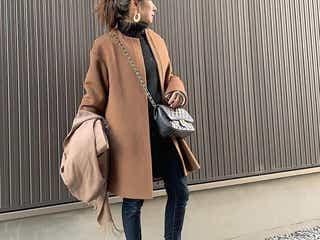 ブラウン系コートがあればロングシーズン楽しめる! 重たく見えない着こなしテクニックを探求