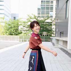 大橋未歩アナウンサー(写真:福田ヨシツグ)