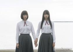 本田翼(左)と山本美月(右)を迎え、湊かなえの「少女」を映画化