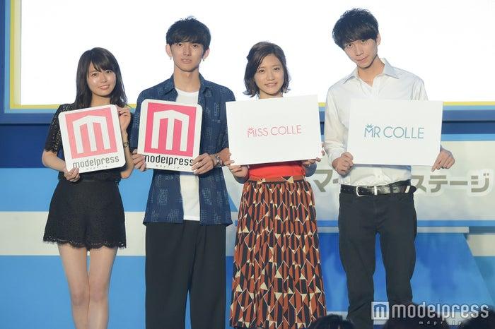 井口綾子さん、山崎寧紀さん、大野南香さん、仲山大明さん (C)モデルプレス