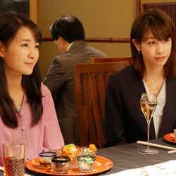 葵わかな、加藤綾子/「ブラックペアン」第6話より(C)TBS
