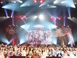 AKB48紅白対抗歌合戦、全曲生歌...