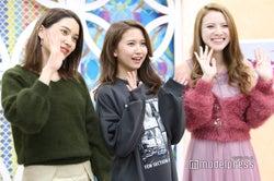 樽見麻緒、菅原樹里亜、蘭 (C)モデルプレス