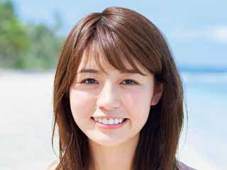 青学準ミス井口綾子、水着グラビアデビュー 色白×迫力ムッチリボディ披露