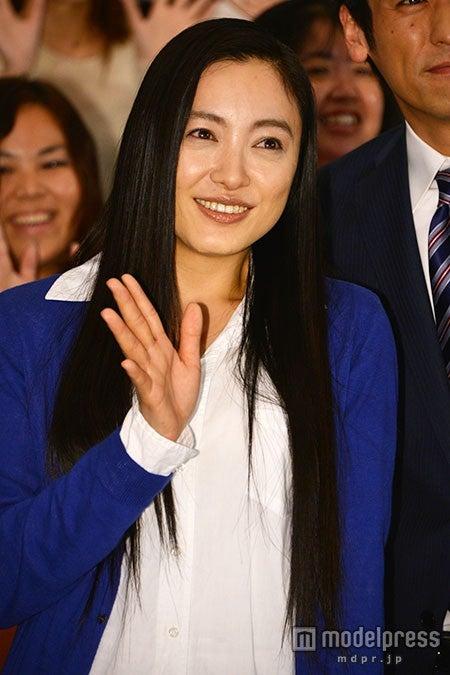 人柄を絶賛された仲間由紀恵【モデルプレス】