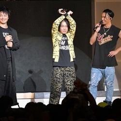 DOBERMAN INFINITY・SWAY、初ワンマンライブに斎藤工&永野がサプライズ登場 映画出演も発表「とんでもない作品」