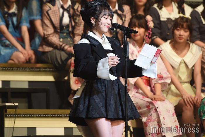 向井地美音「AKB48グループリクエストアワー セットリストベスト100 2019」 (C)モデルプレス