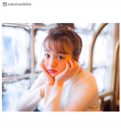 【注目の人物】売れっ子店員が勢力拡大中!ブラマヨ小杉も絶賛「Ranzuki」新人モデル・SAKURA/Instagramより