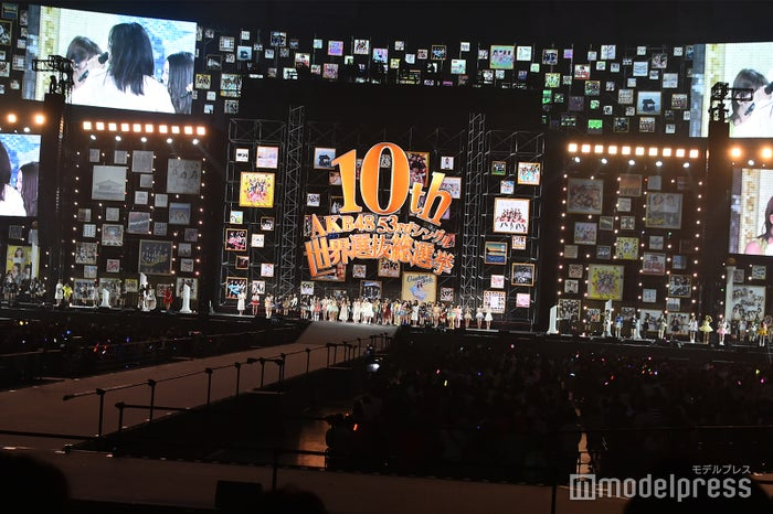 「AKB48 53rdシングル 世界選抜総選挙」AKB48グループコンサート内観(C)モデルプレス