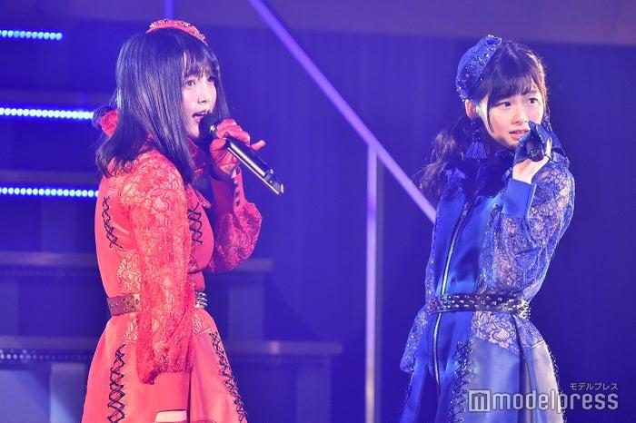 大森美優、浅井七海「AKB48 チーム4単独コンサート~友達ができた~」 (C)モデルプレス