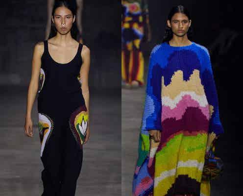 22年春夏ニューヨーク・コレクション リアルのショー復活 先駆的な女性たちにふさわしい服