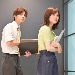 高橋文哉、山下美月「着飾る恋には理由があって」第8話より(C)TBS
