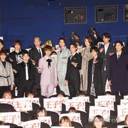 『PRINCE OF LEGEND』公開初日舞台挨拶の様子 (C)モデルプレス
