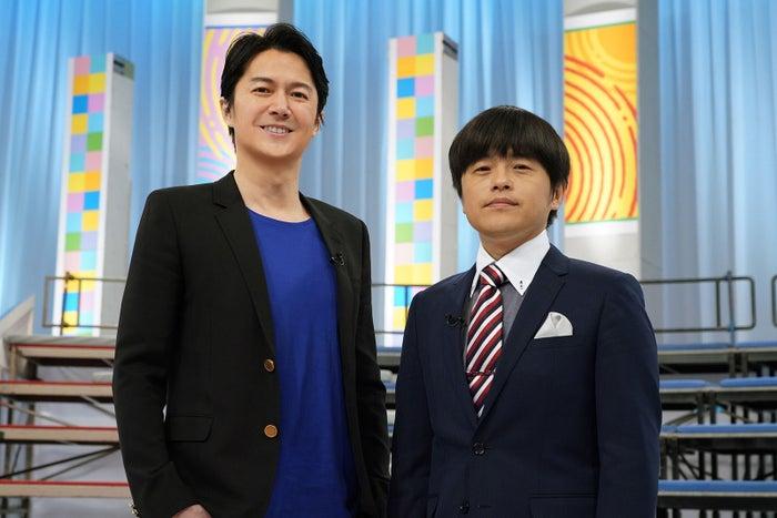 福山雅治、バカリズム(写真提供:日本テレビ)