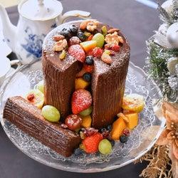 今年のクリスマスはこれで決まり!無印良品「特大塩チョコバウム」で作るブッシュドノエル
