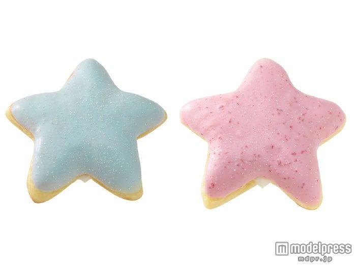(左から)カルピススタードーナツ ソーダ、カルピススタードーナツ ストロベリー