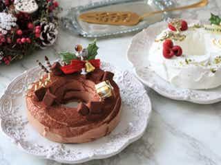 レンジで2分!卵1個とホットケーキミックスでできる!可愛いエンゼルクリスマスケーキ