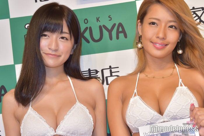 (左から)☆HOSHINO、橋本梨菜、(C)モデルプレス